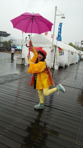 雨でしたが(≧▽≦)